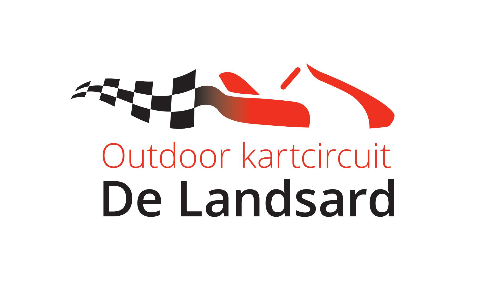 Logo De Landsard Transparant Voor Op Witte Achtergrond