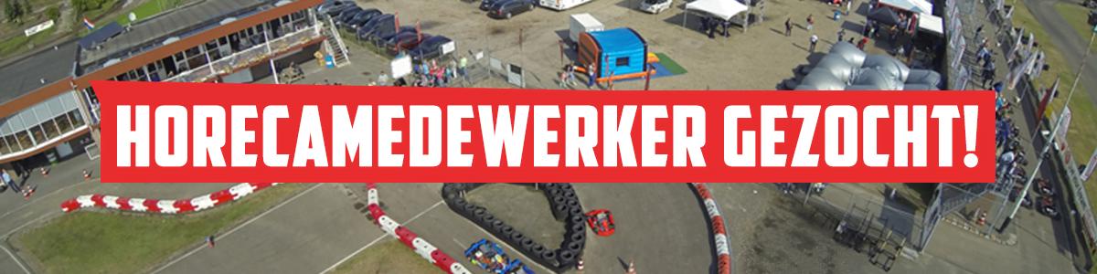 Vacature Horecamedewerker - Outdoor karting circuit De Landsard